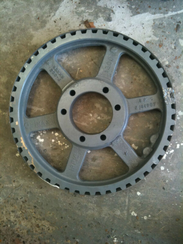 """Browning Gear Drive Pulley 2"""" Belt - 48XXH200J - 48 Groove for XXH200 Belts NEW!"""