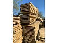 🌲 Pressure Treated Wooden Garden Fence Panels