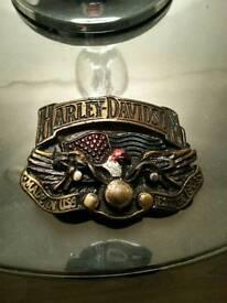 HARLEY DAVISON belt buckle