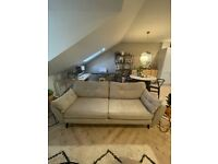 French Connection Zinc 4 Seater Sofa