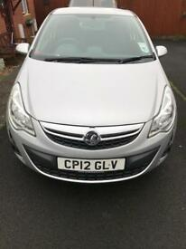 Very Low Mileage Vauxhall Corsa 2012 1.2 Petrol