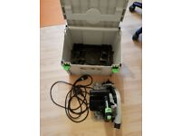 Festool TS55 EBQ plunge saw. 240V