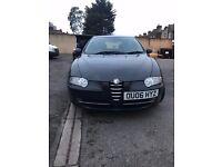 Alfa Romeo 147 1.9 Diesel 5 door Black