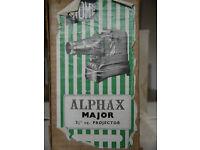 "6x6cms -2 1/4"" sq. / 35mm slide projector. Gnome Alphax Major"