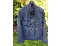 Barbour International - Blue Summer Jacket