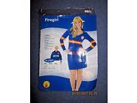 Fancy dress costume firegirl