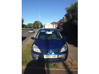 Renault Scenic, 5 seater, 1.6 litre, 2007 - LOW MILEAGE, FSH