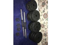 Dumbbell set 15kg each