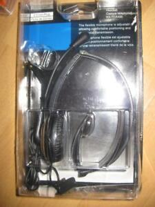 PANASONIC KX-TCA400 Light Weight Headset / Headphones with Mic for Home Phone with 2.5mm jack. Clear Audio. AUX. NEW