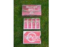 5 packs of Brand New 3 piece Golf Balls – 1 x Wilson Staff PX3 Soft & 4 Slazenger B51 ( 15 ball box)