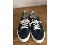 Ralf Lauren canvas shoes size 6