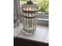 BRAND NEW Birdcage Lamp W/Bulb