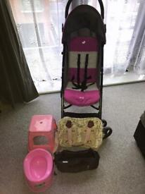 REDUCED!!Joie Buggy+Extras