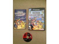 GameCube game super smash bros melee