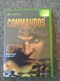 Xbox game Commandos 2 men of courage