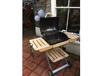 Outback Omega 200 barbecue with cover