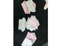 14 New born baby girls vest