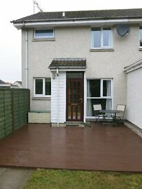 1 bedroom fully furnished, well maintained maisonette (not a flat) in a quiet area of Inverurie