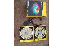 Corsair QL140 RGB fans X 3