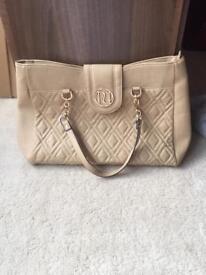 Ladies handbag - river island beige