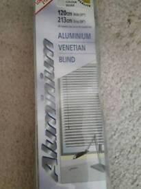 Venetian blinds- aluminium, new in original box