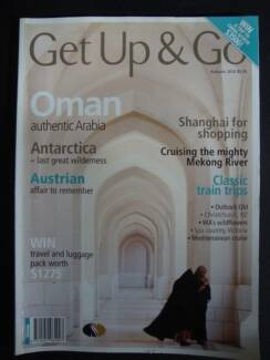Get Up & Go - Autumn 2010 issue (travel magazine)