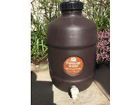 Home brew 40 pint beer barrel.