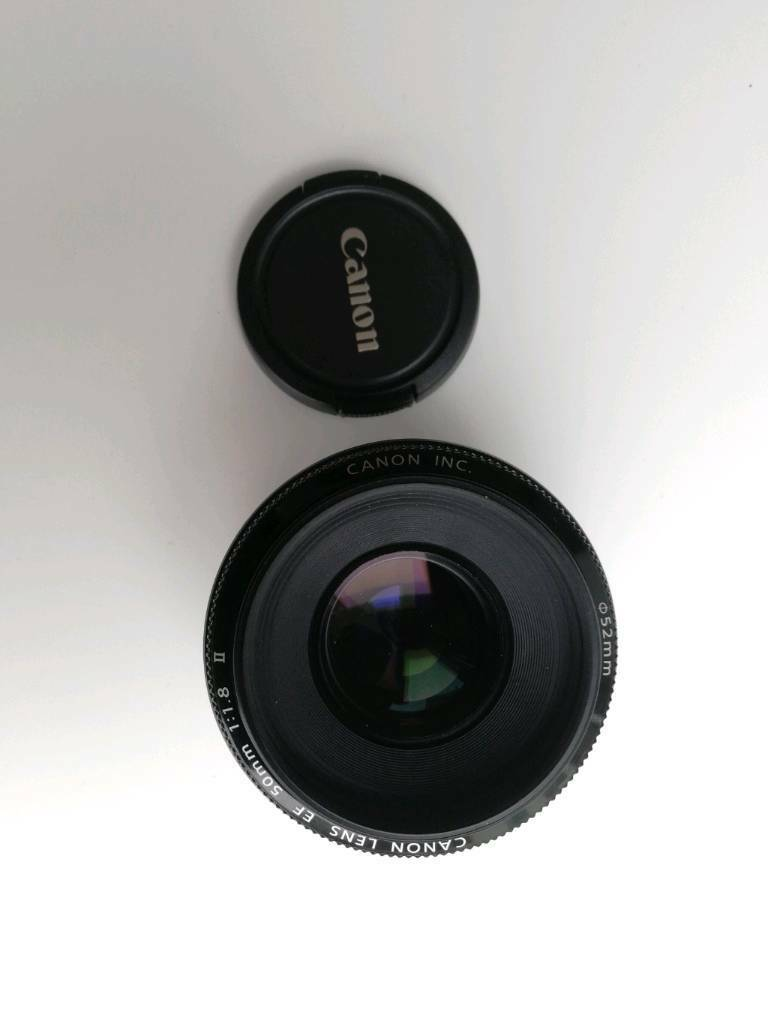 Canon lens 50mm 1.8