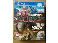 PS4 farcry double pack -new and sealed-