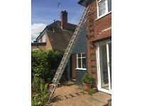 Double Extension Ladder Aluminium with Stand Off