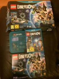 Lego dimensions starter pack with extras... Simpson's and storage case