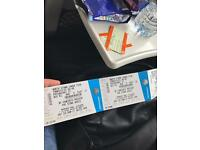 4 x stone roses tickets for sale (Glasgow)