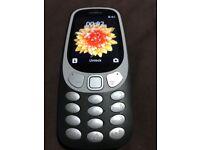 nokia 3310 3g (new model) brand new,Black unlocked