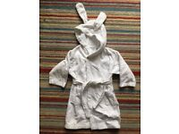 JoJo Maman Bebe towelling robe in perfect condition