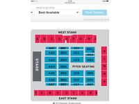 ELTON JOHN TICKETS! fantastic seats, excelsior stadium, airdrie 20th june