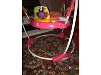 Jumperoo baby toy/ pre walker