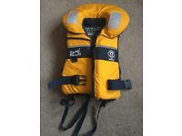 Large Child's crewsaver lifejacket