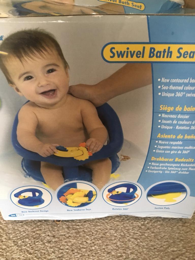 Kids Swivel Bath Seat | in Pontypridd, Rhondda Cynon Taf | Gumtree