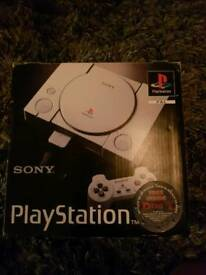Boxed Playstation 1
