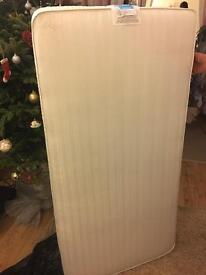 Mothercare mattress size 700mm -1400mm in excellent condition..