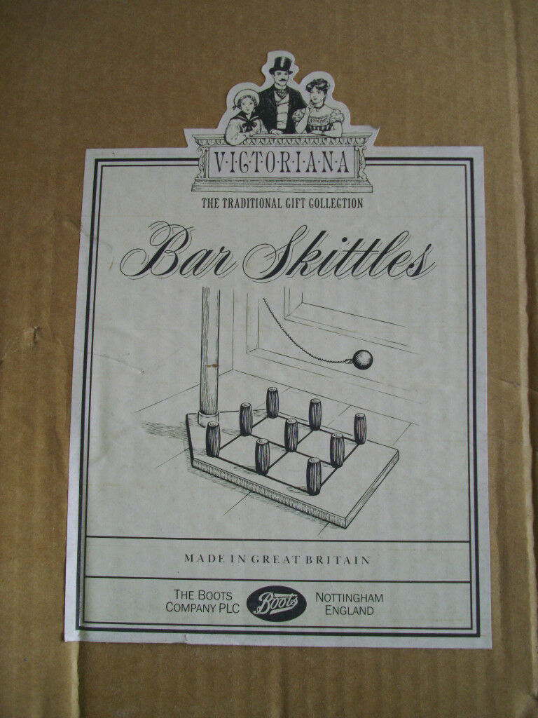 Table-Top Bar Skittles Game