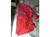 2 girls zipper jackets