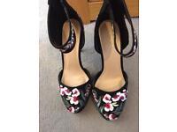 Next floral shoes
