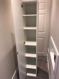 Bathroom unit and shelves