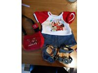 Build a Bear/ Bear Factory High School Musical Outfit plus Extras- Bargain