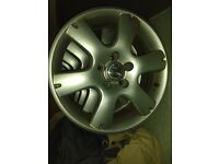 "4X 15"" alloy wheels audi vw"