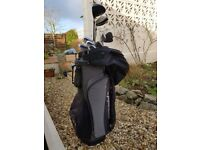 Mens TaylorMade 'Burner' Golf Clubs with Bag