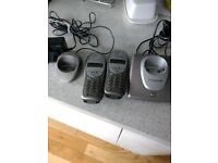 BT twin cordless phones