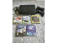 PS3 + games + 2 controllers bundle