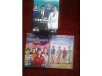 The Inbetweeners DVD boxset plus 2 dvd's ( The Movies ) for sale.
